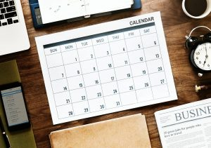 A calendar. - something that can help you decide what is the best time of the year to move house.