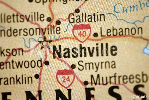 Find some of the nest cities to buy a house on Tennessee