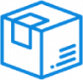 box icon blue